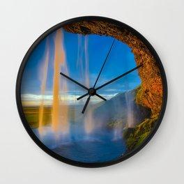 Islande Wall Clock