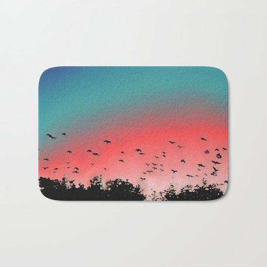 Birds Flying High Bath Mat