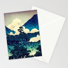 Under the Rain in Doyi Stationery Cards