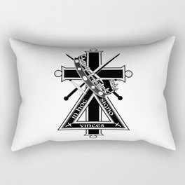 Masonic cross Rectangular Pillow