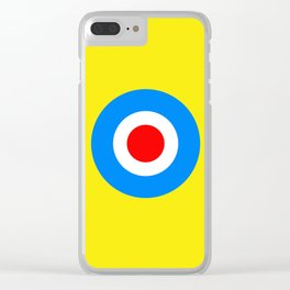 Happy Dots Clear iPhone Case