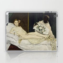 Olympia, Edouard Manet, 1863 Laptop & iPad Skin