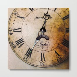 The Hands of Time - Variant #3 Metal Print