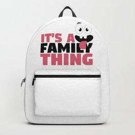 Fun Family It's A Family Thing Googly Eyes Backpack