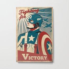Victory Metal Print