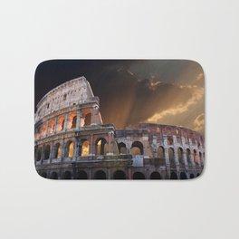 The Coliseum of Ancient Rome Bath Mat