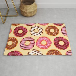Crazy donuts Rug