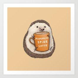 Pumpkin Spike Latte Kunstdrucke