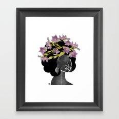 Wildflower Crown II Framed Art Print
