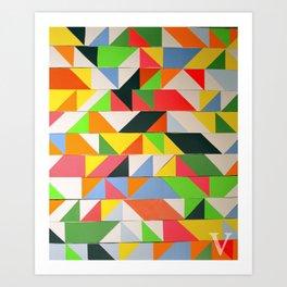 zxv Art Print