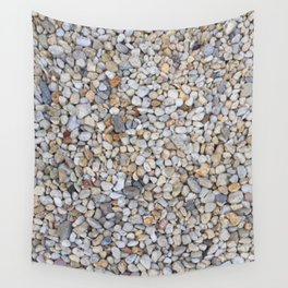 Beach Pebbles Wall Tapestry