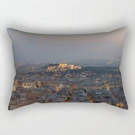 Acropolis of Athens Rectangular Pillow