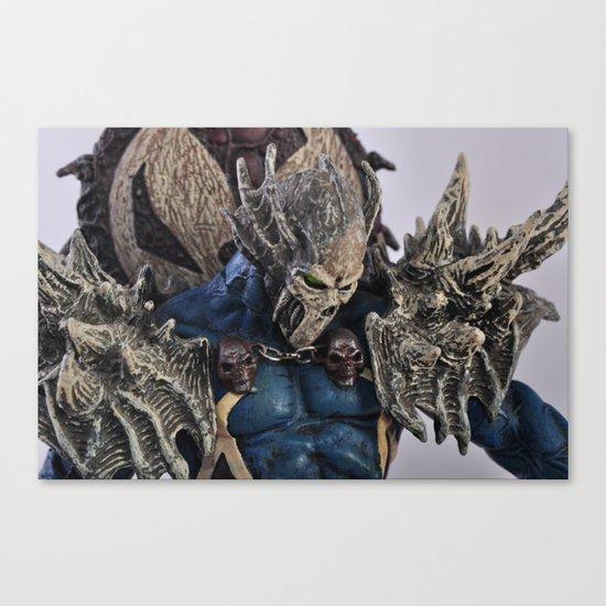blue Spawn Canvas Print