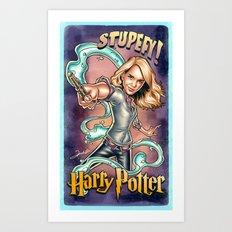 Stupefy Art Print
