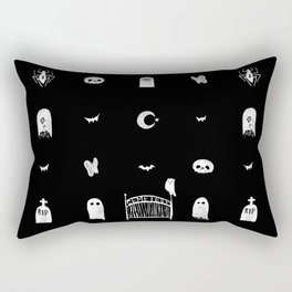 Graveyard Rectangular Pillow