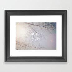Soul Shine Framed Art Print