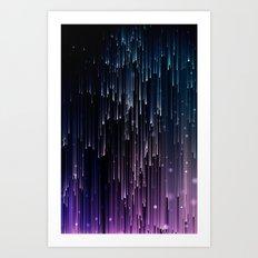 Pioggia di luce Art Print