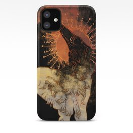 Fiery Beacon iPhone Case