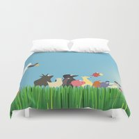 What's going on the farm? Kids collection Duvet Cover