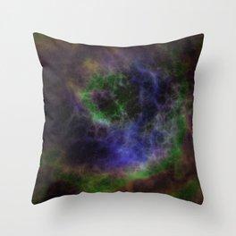 Cosmic Nebula Galaxy Expanse Throw Pillow