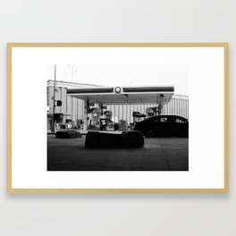New York City Gas Station 2017 Framed Art Print