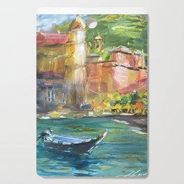 Vernazza, Cinque Terre Italy Cutting Board