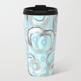 White Bubble 01 Travel Mug
