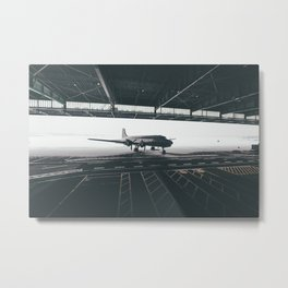 Troop Carrier posing at Tempelhof Metal Print