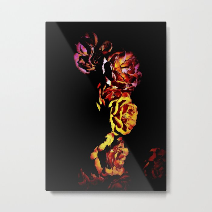 Dark Rose Tower, Broken Heart Metal Print