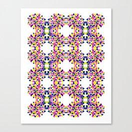 art smears pattern Canvas Print