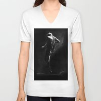 cyrilliart V-neck T-shirts featuring TMH Harry by Cyrilliart
