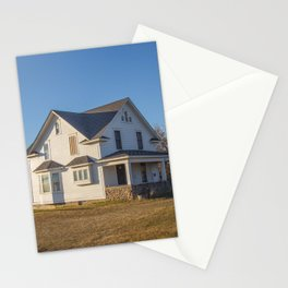 Beautiful House, Chaseley, North Dakota 3 Stationery Cards