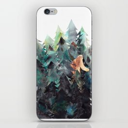 Bigfoot Forest iPhone Skin