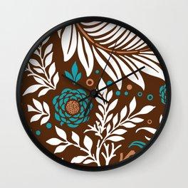 Floral Design 32 Wall Clock