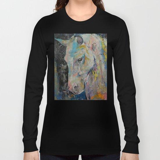 Hidden Heart Horse Long Sleeve T-shirt
