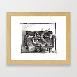"""""""Date Night"""" Framed Art Print"""