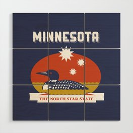 Minnesota - Redesigning The States Series Wood Wall Art