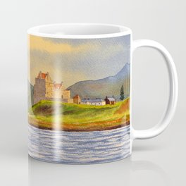 Duart Castle Isle Of Mull Scotland Coffee Mug