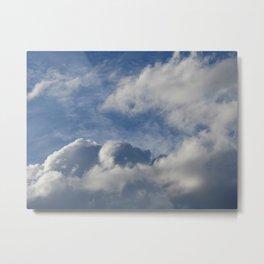 Pareidolia - Magic in the Clouds Metal Print