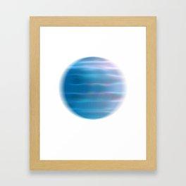 Blue Planet I Framed Art Print