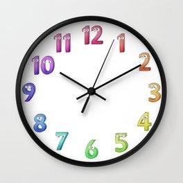 I count them! Wall Clock