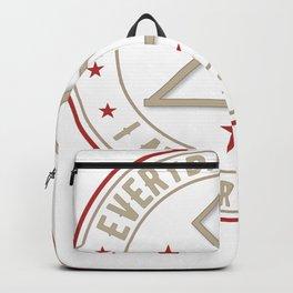 I Am Protected magickal activated sigil tshirt gift Backpack