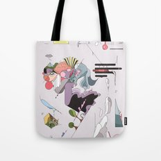 Cover for an imaginary magazine Tote Bag