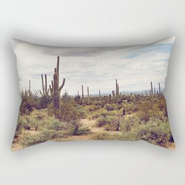 Under Arizona Skies Rectangular Pillow