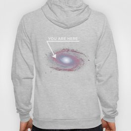 Astronomy Lover - You Are Here Galaxy Space Hoody