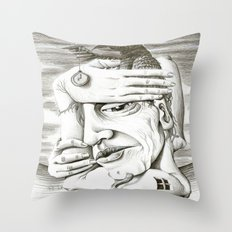 080214 Throw Pillow