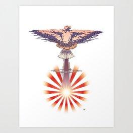 Nuclear Dawn Art Print