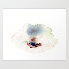 Peace in mind Art Print