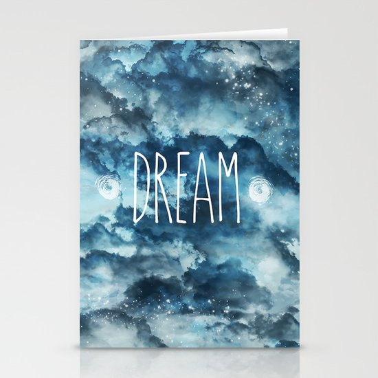 Dream in Blue Stationery Cards