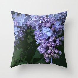 Lilac Dream Throw Pillow